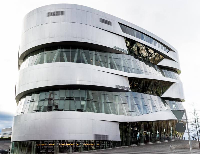 The Mercedes Benz Museum
