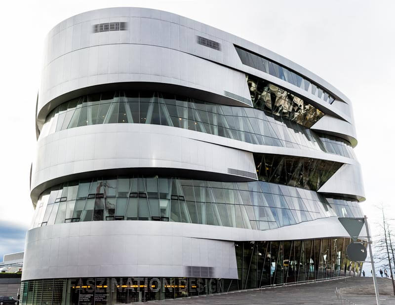 The Mercedes Benz Museum