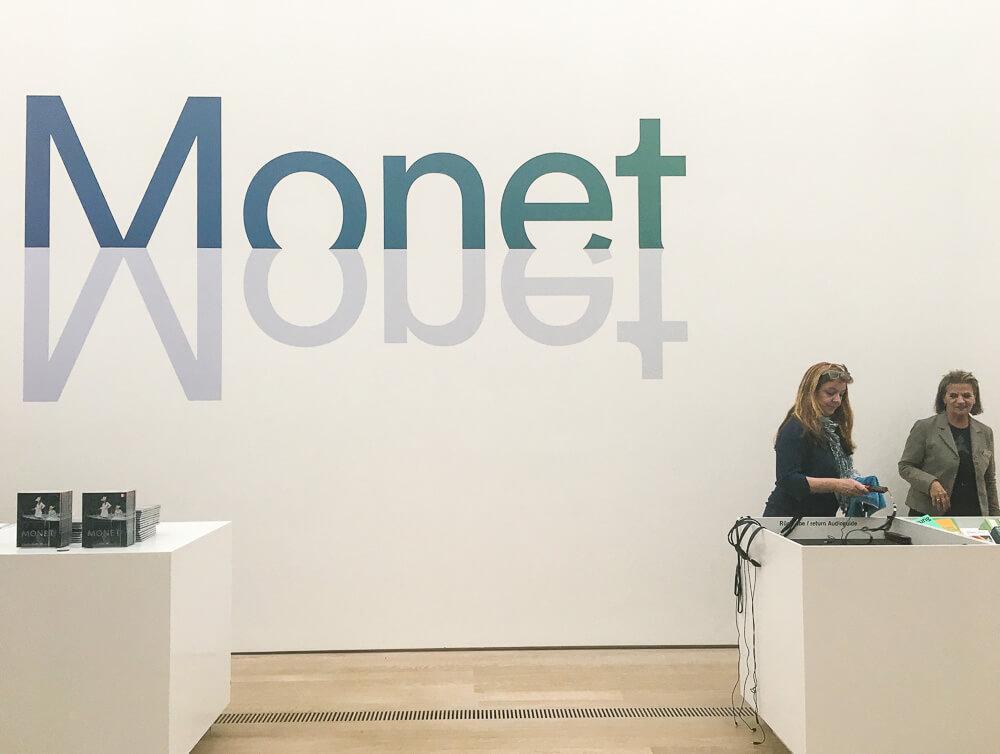 Exhibition Monet