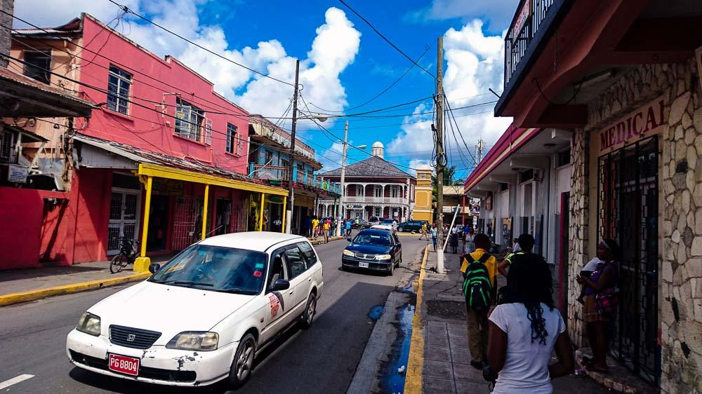 On the Road in Port Antonio
