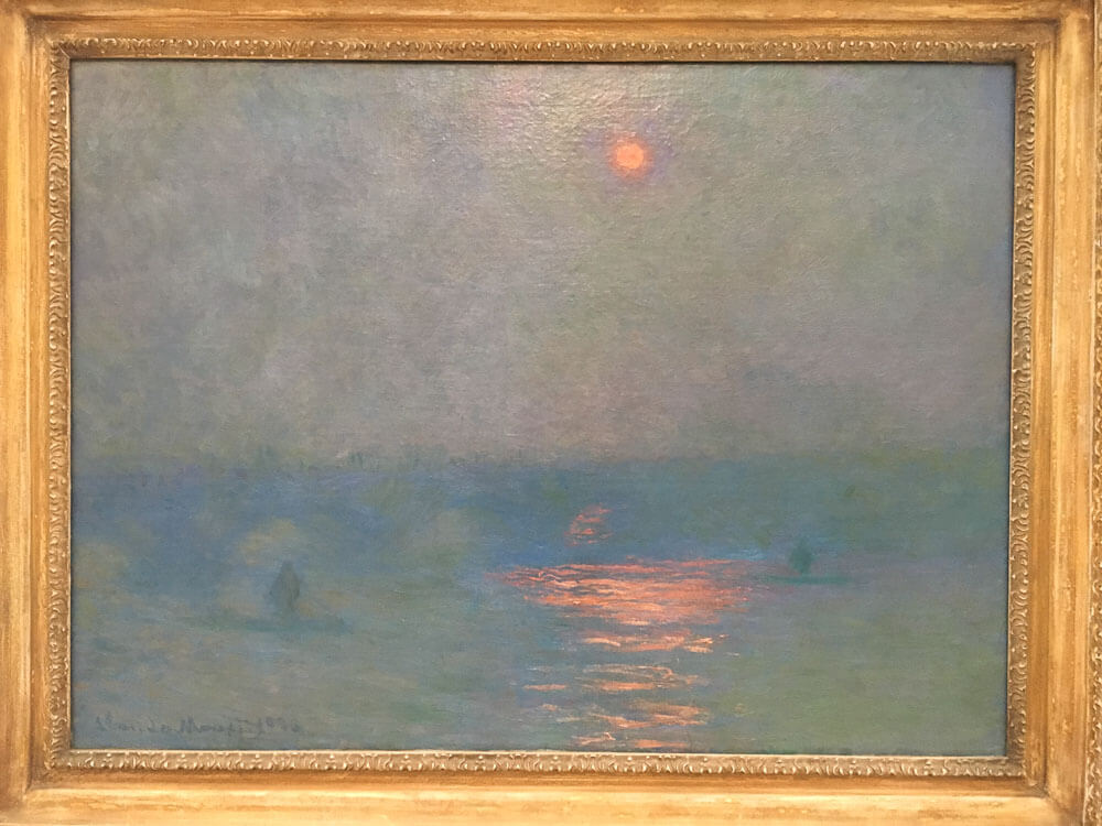 Waterloo Bridge, The Sun in a Fog, 1903