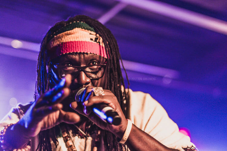 Mikey General at Afro-Pfingsten Festival's Reggae Night