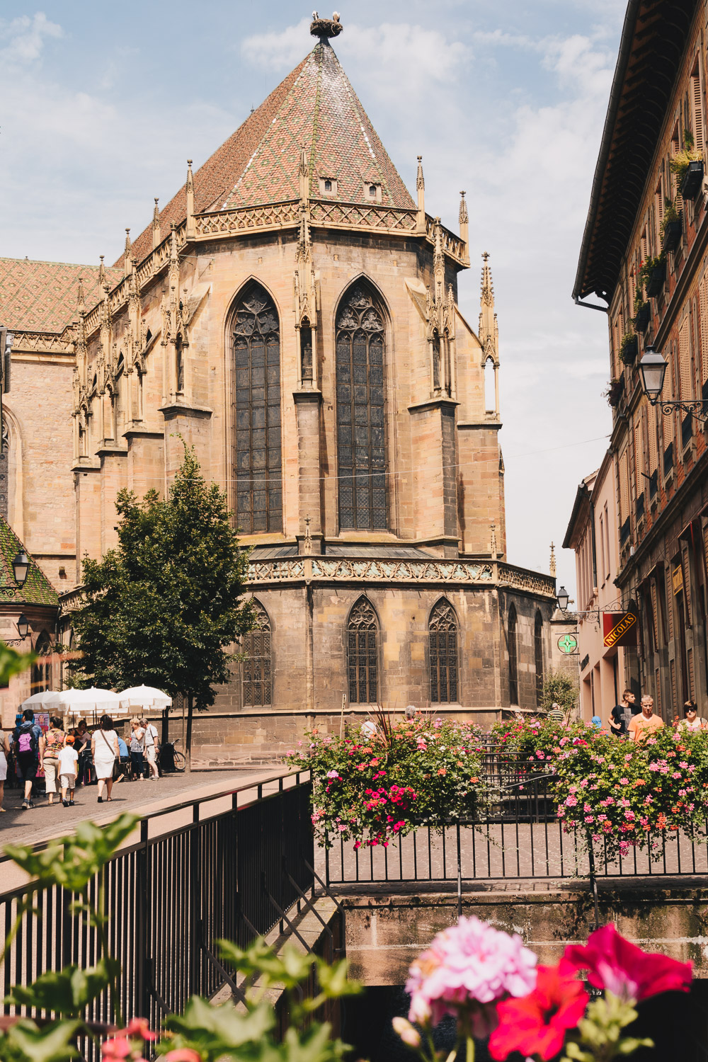 The Saint Martin Church in Colmar France