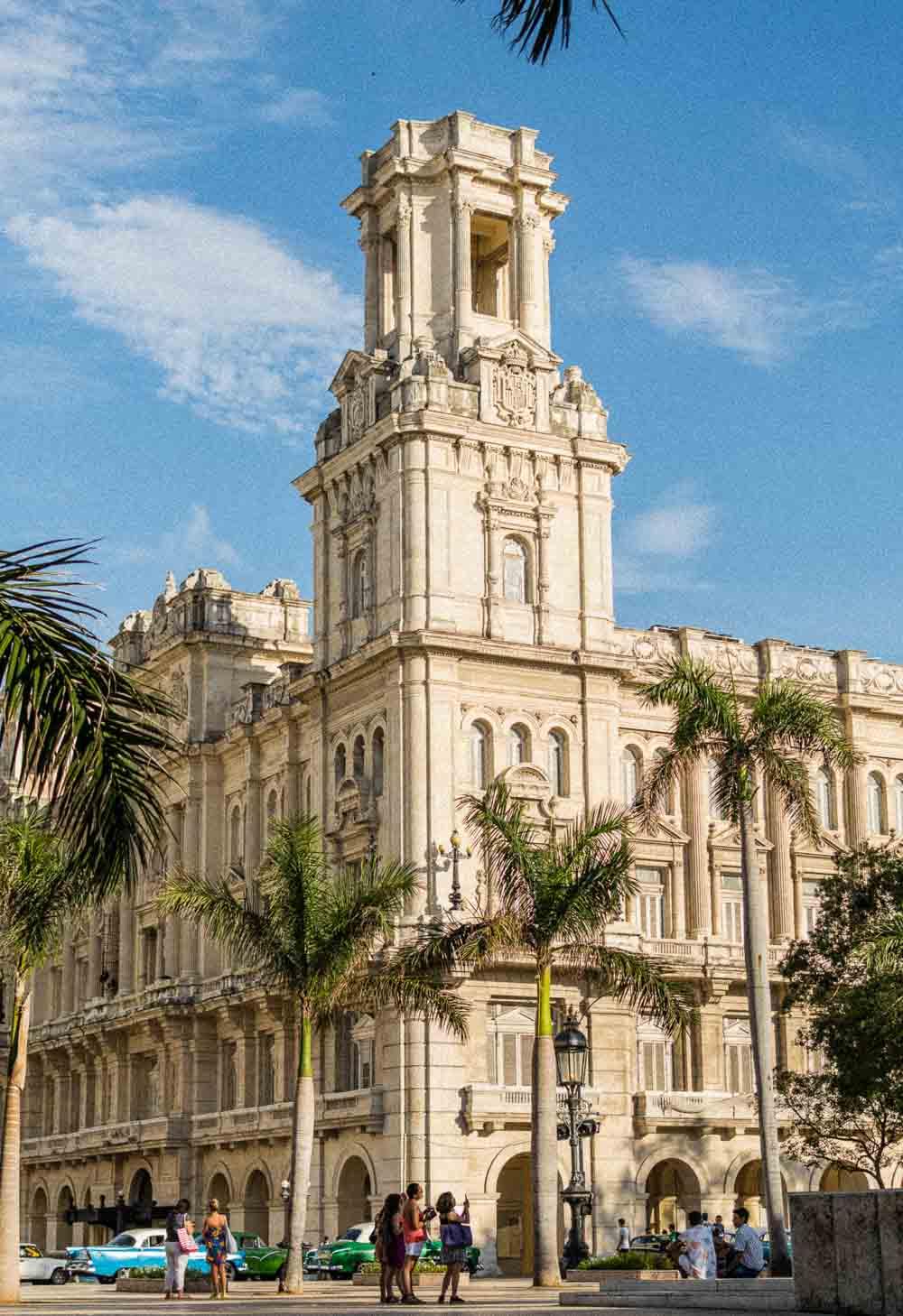 Historical Architecture in Havana Cuba