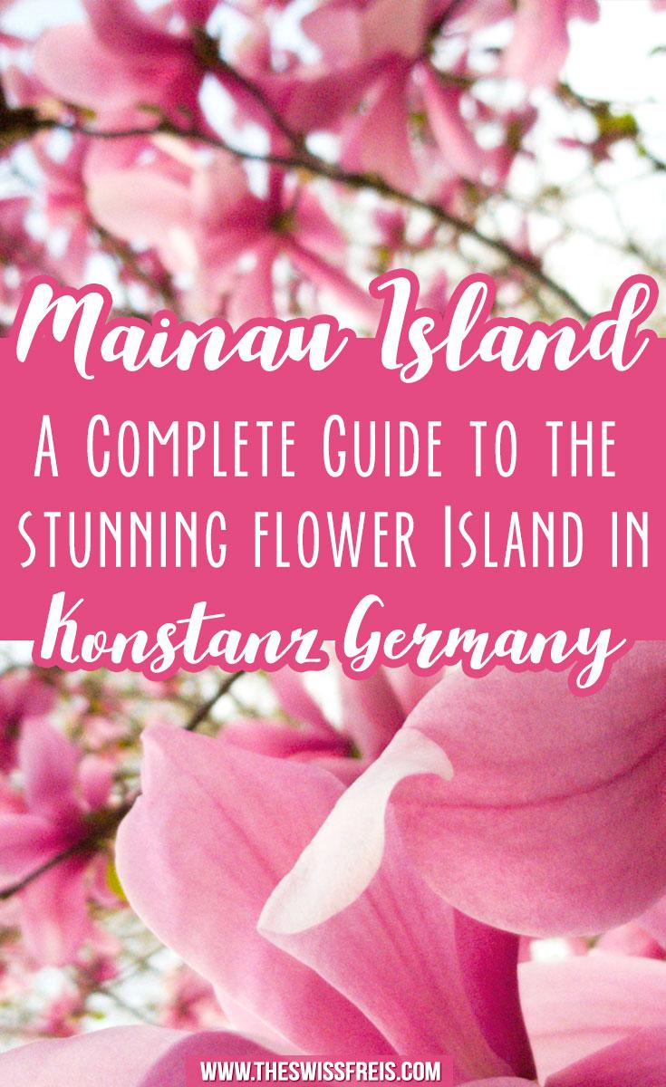 Flower Island of Mainau in Konstanz Germany #travelguide #germany