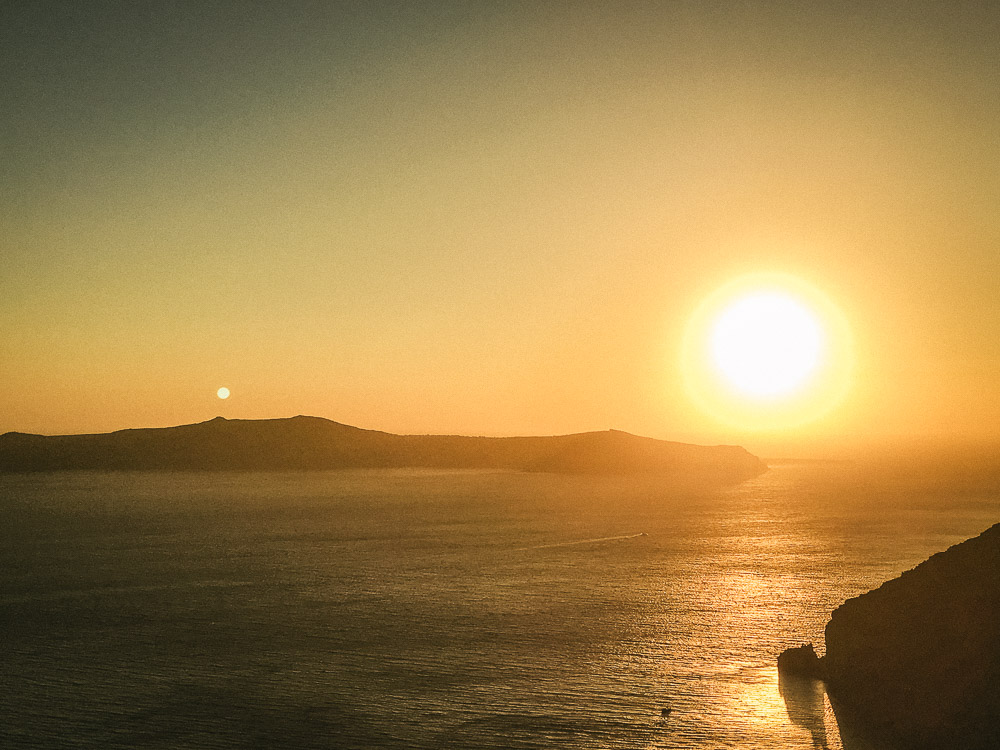 Sunset in Firostefani