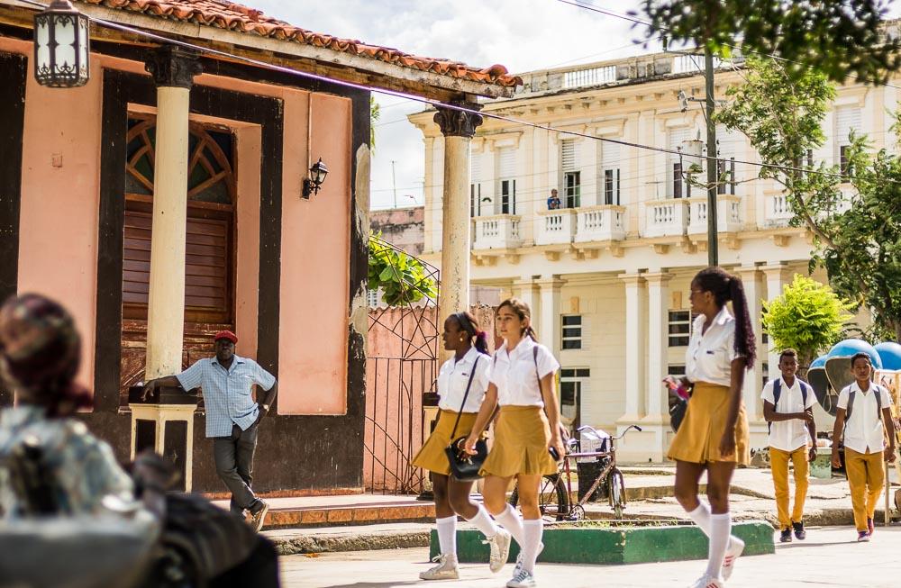 Cuban School Children