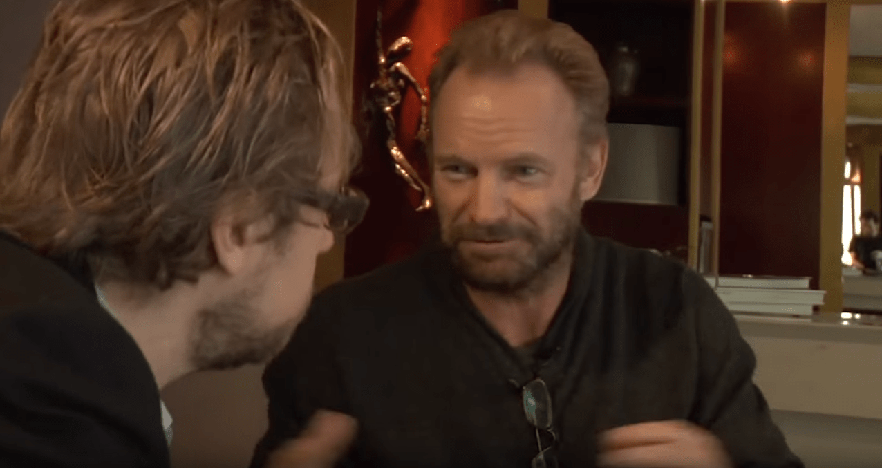 Sting about Ayahuasca Experience