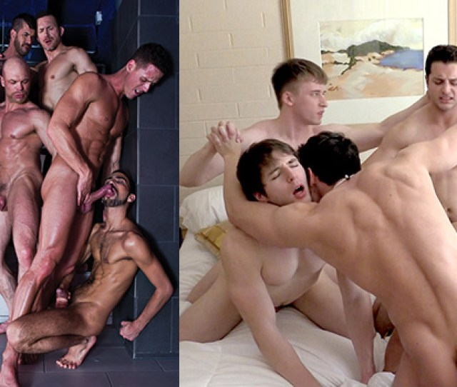Who Gave Better Orgy Lucass 9 Man Orgy Or Gay Hooplas 5 Man Orgy