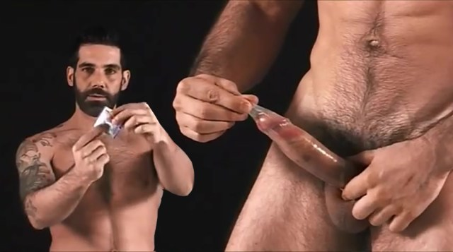 Tony Duques X Rated Condom Ad Sex Ed Or Gay Porn