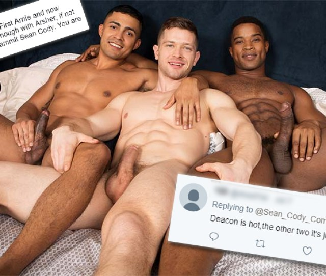 Sean Cody Went Interracial The Twitter Trolls Got Ugly