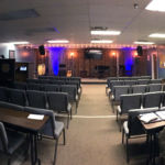 Pano of the main worship space