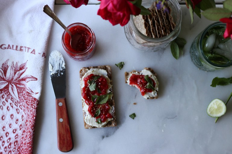 Strawberry Jam | www.thetableofcontents.co