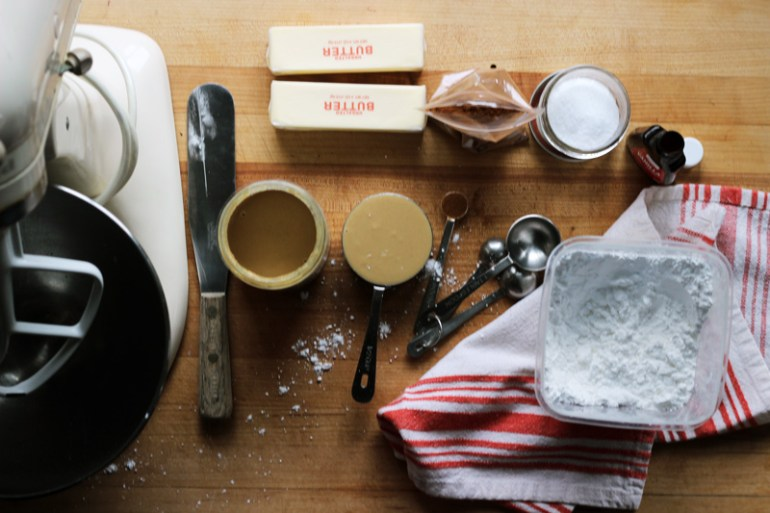 Molly's Tahini Frosting | www.thetableofcontents.co