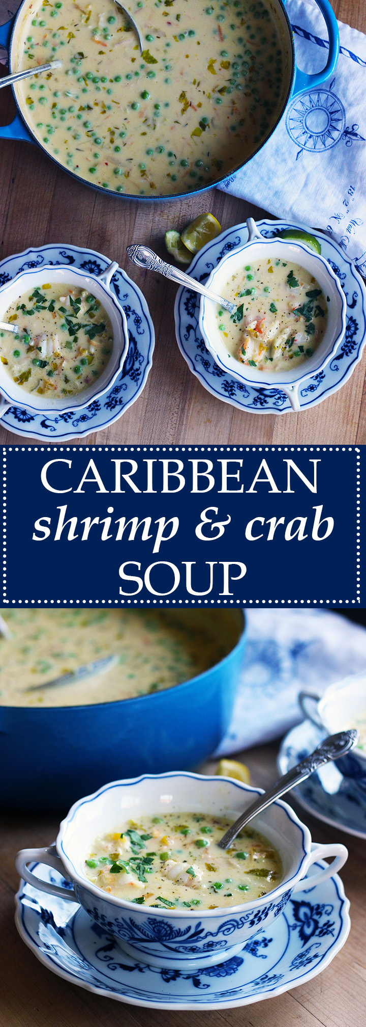 Caribbean Shrimp and Crab Soup | www.thetableofcontents.co