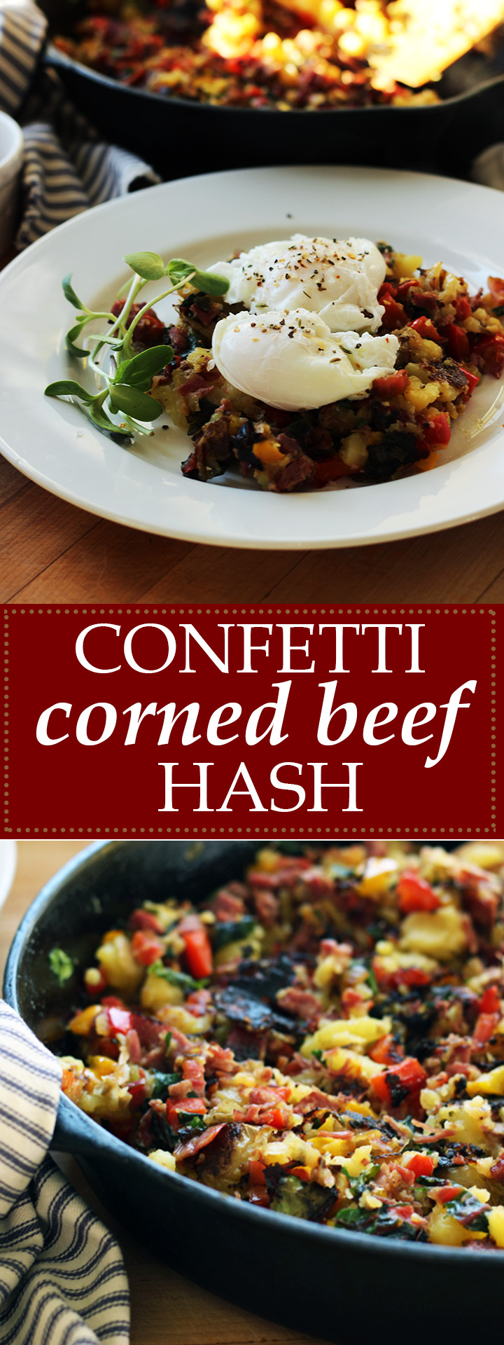 Confetti Corned Beef Hash | www.thetableofcontents.co