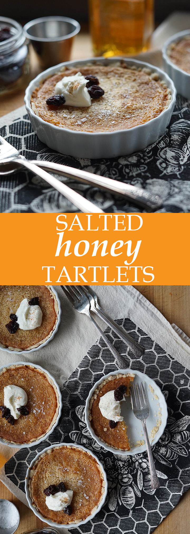 Salted Honey Tartlets | www.thetableofcontents.co