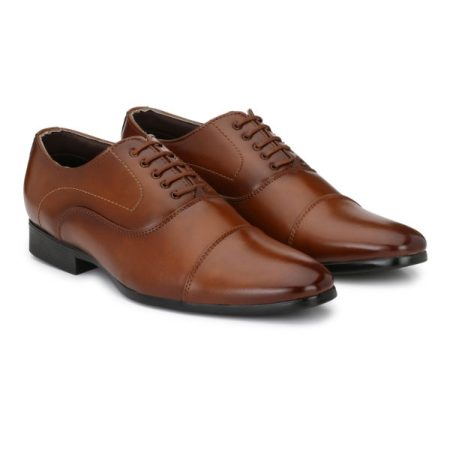 mens brown office shoes