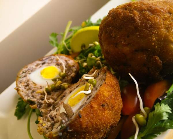 Scotch Eggs With A Tropical Twist Recipe The Take It