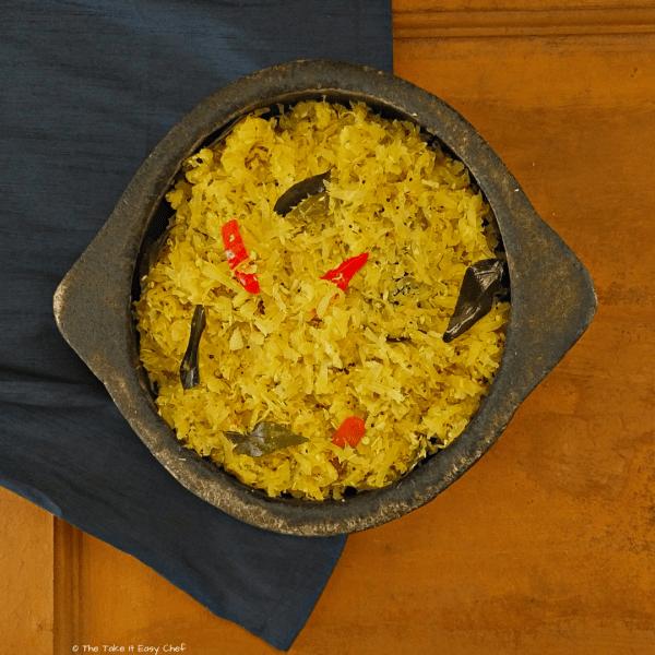 Raw Papaya Stir-Fry
