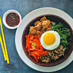Bibimbap with Chicken Bulgogi