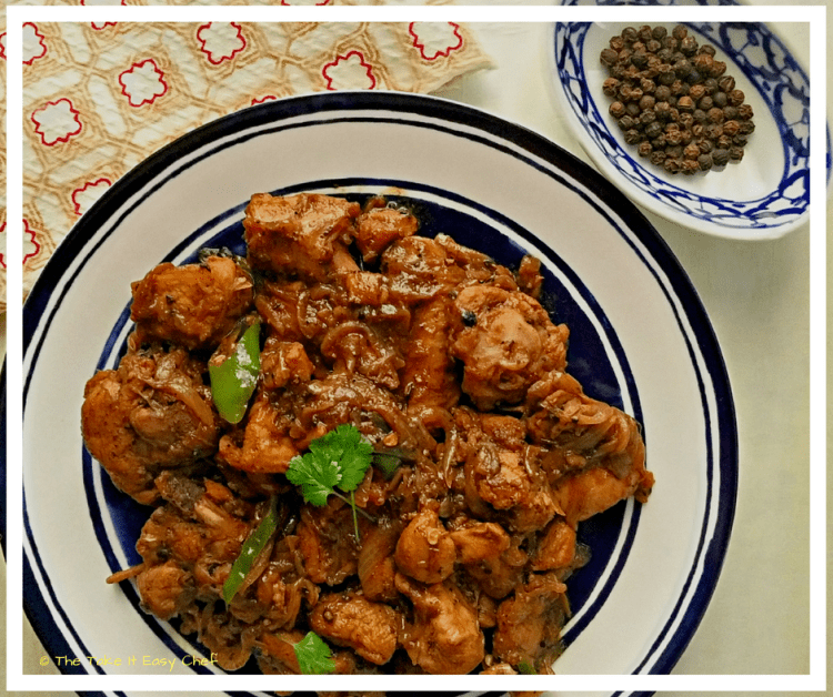 Black Pepper Chicken (Murgh Kali Mirch)