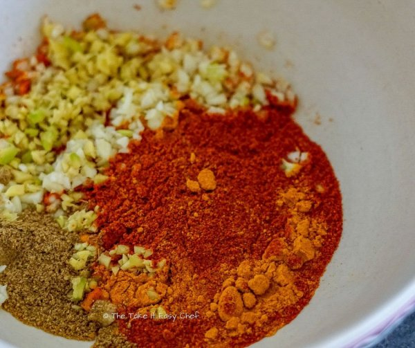 Picture of Easy Indian Chicken Wings Steps - Ingredients