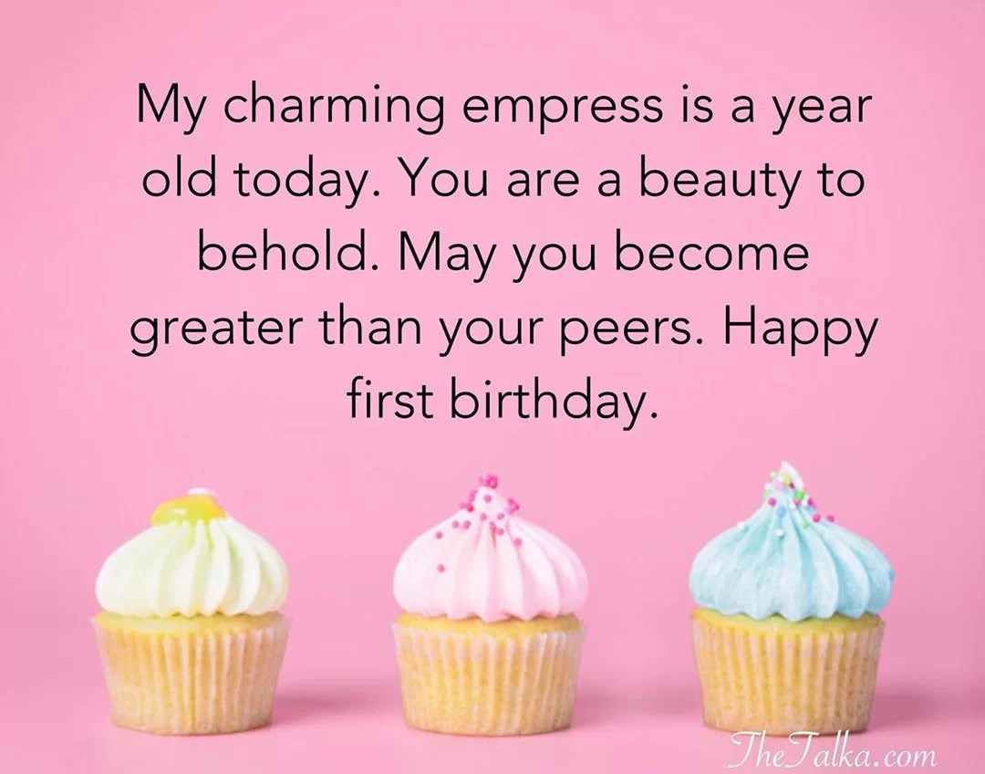 1st Birthday Wishes For Baby Boys And Girls