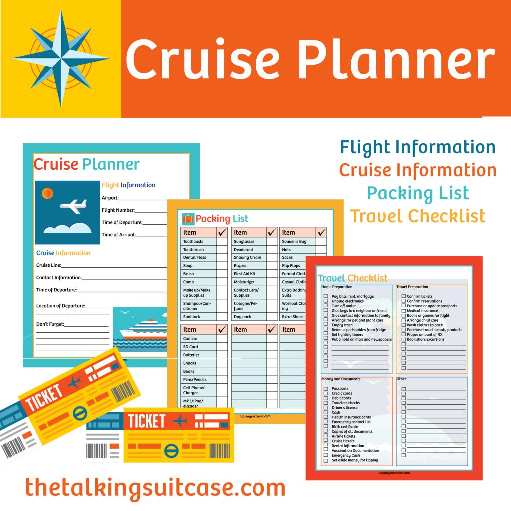 Printable Cruise Planner