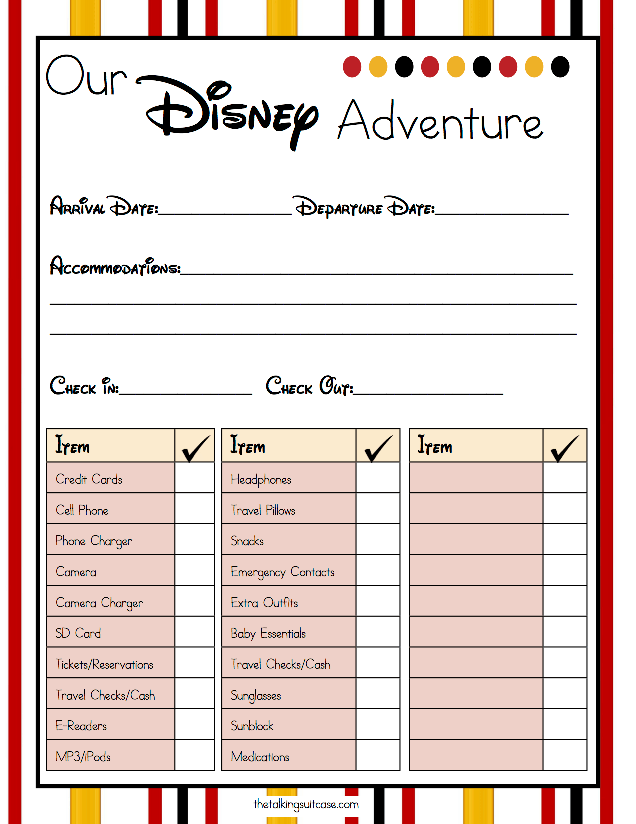 Get Ready For Your Disney Vacation