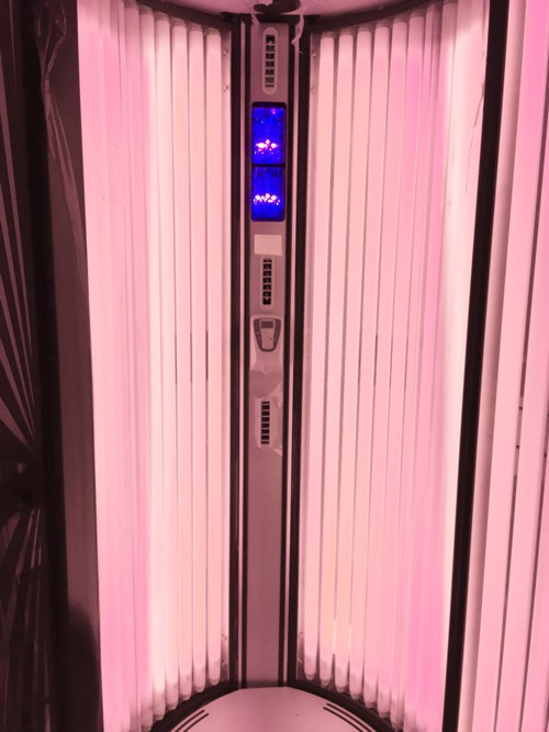 Red Light Therapy Tanning Sunbed Alisun Sunvision V300