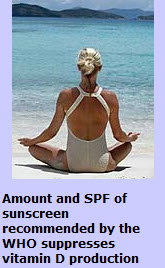SPF blocks vitamin D