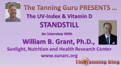 The UV-Index and vitamin D standstill - interview with Dr William Grant