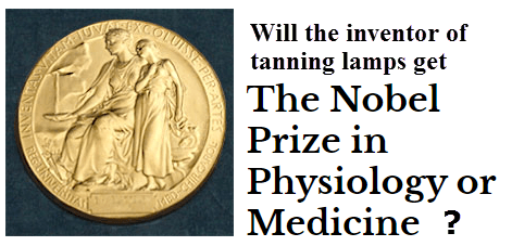 Will the inventor of tanning lamps get the Nobel Prize