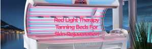 Red Light Therapy Tanning Beds for skin rejuvenation