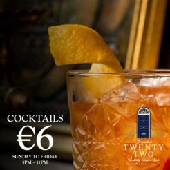 N22 Cocktails €6