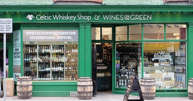 Celtic Whiskey Shop .