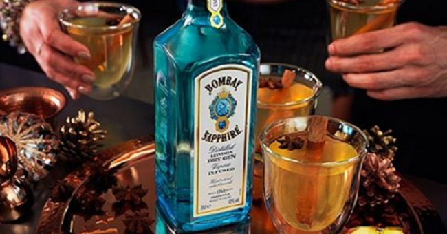 Up your Cocktail Game this Christmas with this Seasonal Bombay Sapphire Gin Creations