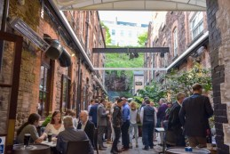 Cask Courtyard with all-weather retractable roof