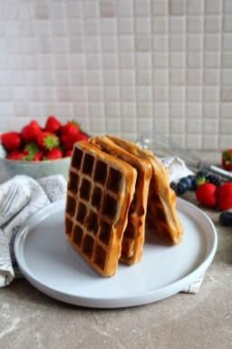 Protein Vegan Waffles