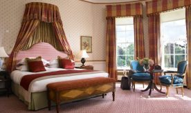 k club Bedroom suite in the Kildare Hotel Spa & Golf Club.