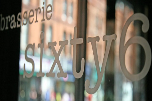 Trendy taste from Brasserie sixty6 - 3 course meal for 2 with tea/coffee plus a bottle of wine for €50 - SOLD OUT