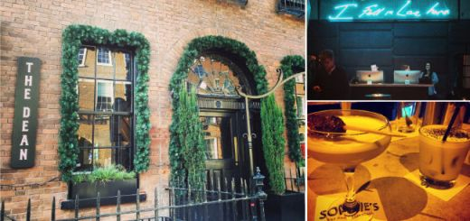 The Dean Hotel & Sophie's Restaurant & Bar Dublin by Kate Louise Barry