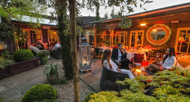 Win Dinner for Two Alfresco, with a Bottle of Wine on Marco Pierre White Donnybrook's Heated Terrace - Closed