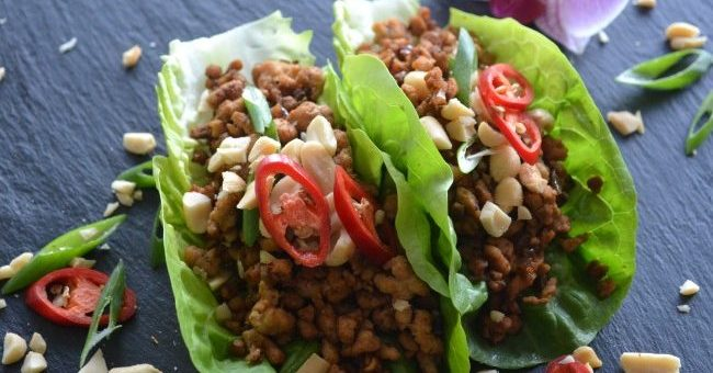 Asian Lettuce Wraps Recipe by My Nutrition Ireland