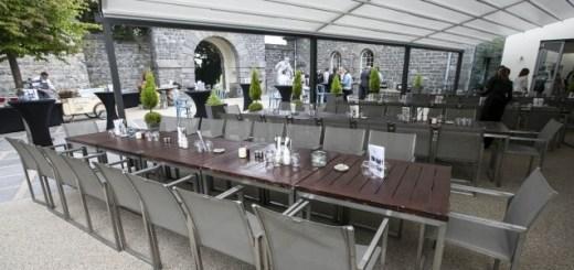 Launch of Carton House Hotel's new Al Fresco Dining Area