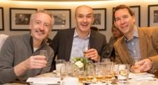Charlie McLaughlin, Keith Burns & Richard Whitley
