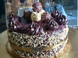 Ferrero Rocher Chocolate Fudge Gateaux