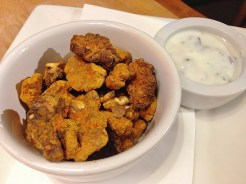Spiced Nuts and Yoghurt Dip