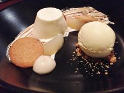 Vanilla Panna Cotta, Pear, Ginger